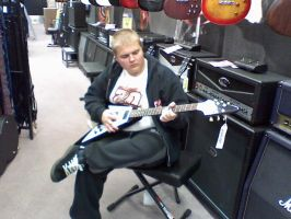 Me and My Flying V by Tommyhawk
