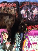 First ish botdf shirts and a cat by Monster1777