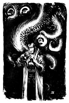 Hellboy Commission by JeffStokely