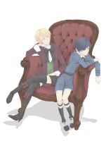 Alois and Ciel by PrinceWilock