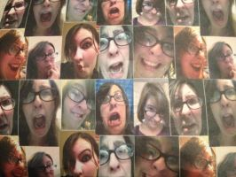 Many faces of meee by SunnyDayee