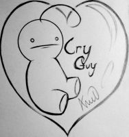 Lovely Cry Guy by Hinarah59