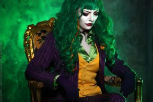 Female Joker cosplay 4 by HydraEvil
