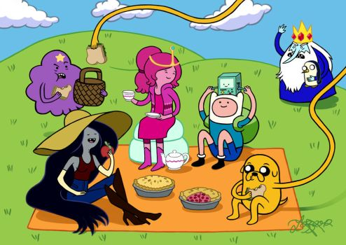Adventure Time - Picnic Time by bratchny