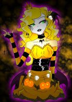Halloween Queen DRae: formal by BatzyDRae