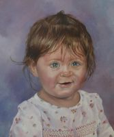 Tony's Niece - OIL Painting by griceyinoz