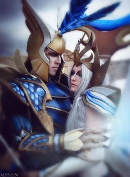 DotA 2 - Shendelzare and Sky Mage by MilliganVick