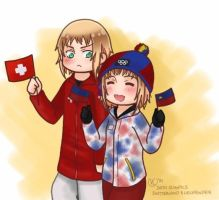 Sochi 2014- Switzerland and Liechtenstein by shadowsoffear