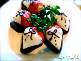 Well dressed strawberries by BiancaLoves1D