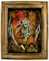 Framed Forest Pixies-3 of 5 by dseveredhead
