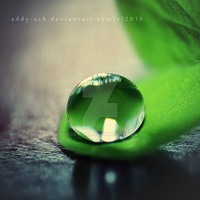 Drop of Green. .. by addy-ack