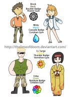PokedexTime! Gold/Silver Gym leaders 3 by thelimeofdoom