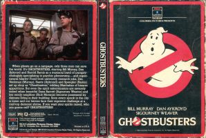 Ghostbusters vintage style dvd by jhroberts