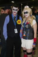 Joker and Harley Quinn by VoiceofSupergirl