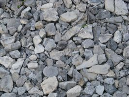 00040 - Large Rough Stone Gravel by emstock