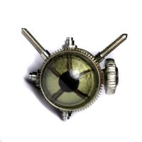 Steampunk Amphibious pin by CatherinetteRings