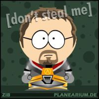 Half-Life 2: Gordon Freeman by planearium