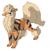 Arcanine by mute-owl