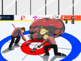 Curling by MountainChubby