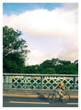 Riding a bike by NowPictured