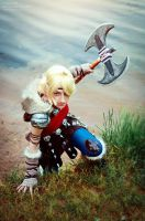 How to train your dragon 2: Astrid Cosplay V by Hanuro-Sakura