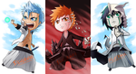 Bleach Chibi Pt.1 by silverava