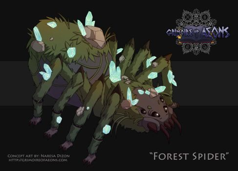 Forest Spider by Resa11