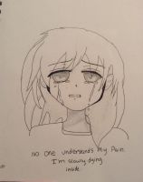 You don't understand my pain  by Shadow-Presense