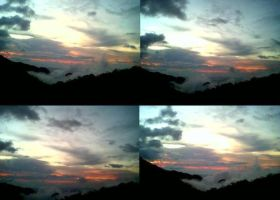 Clouds 1 to 4 Baguio City by Madette