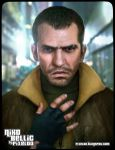 Niko Bellic by pixeloo