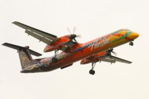 LAX 09 Horizon Dash 8 by Atmosphotography