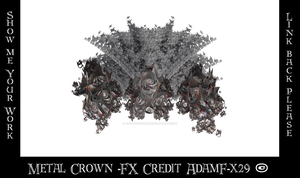 Metal Crown Fx  - G Adam Orosco - AdamF-x29 - Ovah by ArtwithoutabrushFx