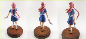 Commission Yuno Gasai Future Diary 03 by Tsurera