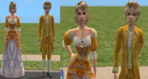 Sims 2 Rin e Len Story of Evil - Rin for Download by Cinzia-chan