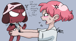 Iscribble Collab by DynastisGoopis