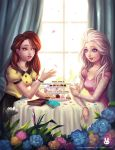 SS: Tea party with Elsa and Belle by Noxmoony