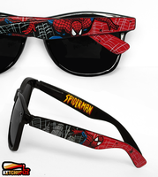 Spiderman handpainted sunglasses by Ketchupize