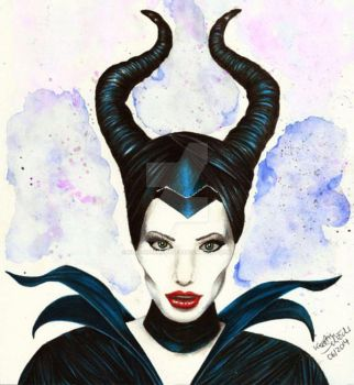 Maleficent by KerstinSchroeder
