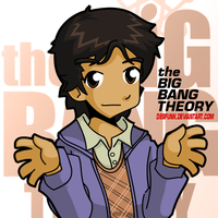 Big Bang Theory Raj by desfunk
