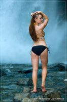 Waterfall Bum by scarlettrenee