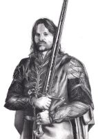Aragorn Telcontar by AdrianoPlat00n