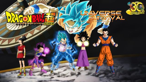 Tournament of Power - Universe Survival - Saiyans by WindyEchoes