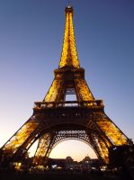 Eiffel Tower by Chaos-Sister
