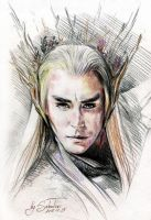 Lee Pace \ Thranduil by SakuTori