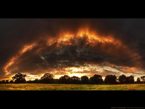 Eclipse V. - The fire arch WP by realityDream