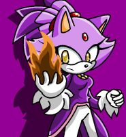 .:Blaze The Cat:. by xMissFabulousx