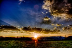 .sunset. by Ditze