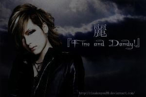 Uruha Fine and Dandy by RinaKouyou89