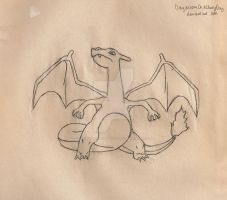 Charizard by DaydreamOnACloudyDay
