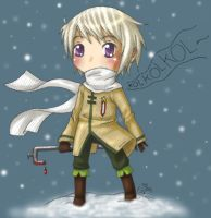 Emma's Russia chibi by roseannepage
